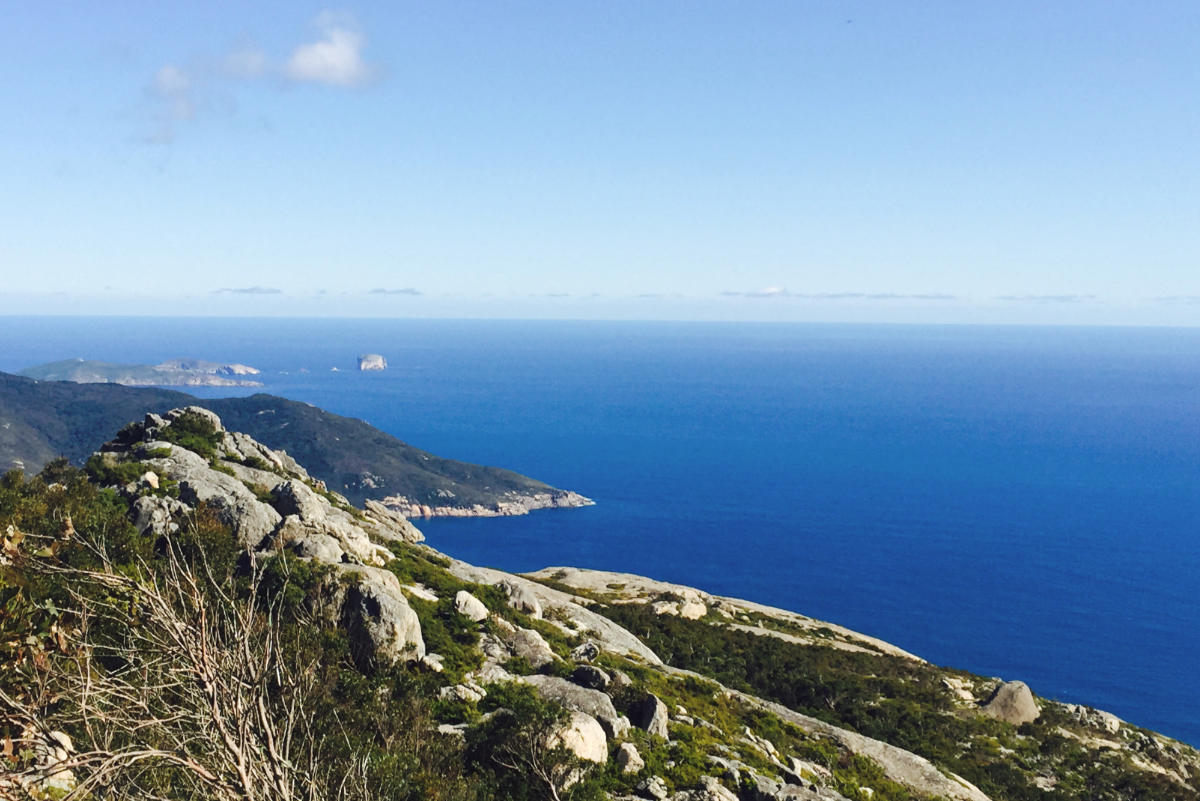 View from Mount Oberon at Wilsons Promontory National Park